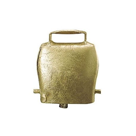 Cloche en acier droite, coloris bronze