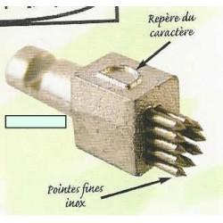 LETTRE ou CHIFFRE AXA 287 - 5mm