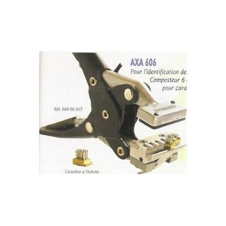 Pince AXA 606 à tatouer - 5mm