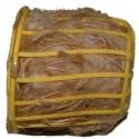 Porte bourre-fibre pour nid garni (jute, coton)