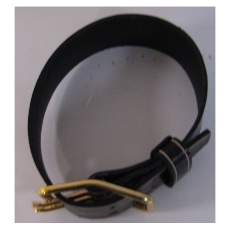 Collier - cuir de buffle 90cm