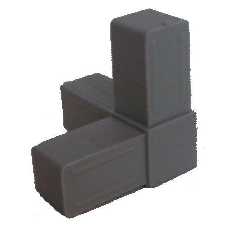 Raccord 3 directions pour tube aluminium