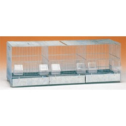 Cage reproduction 3 compartiments - TRANSPORT OFFERT