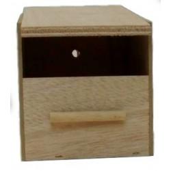 Nid - Nichoir en bois avec ouverture rectangulaire  Exotique