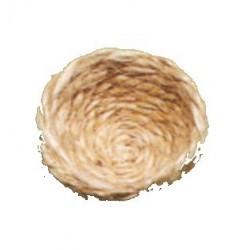 Fond de nid canaris en fibre de jute 11cm