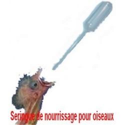 Pipette en plastique de nourrissage pour Oiseaux
