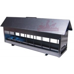 Mangeoire à tiroir galvanisé 59cm