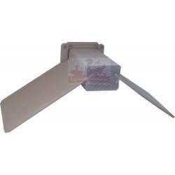 PERCHOIR PIGEON bois et plastique clip système