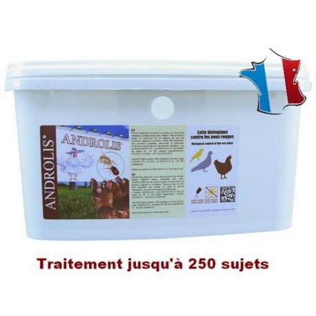 Androlis® XXL - anti-poux rouges naturel - Transport OFFERT