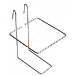 Support métal pour abreuvoir 1L pipette