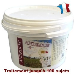 Androlis® XL - anti-poux rouges naturel - Transport OFFERT