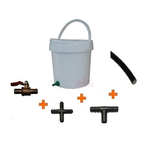 Kit seau-réservoir à eau 20L