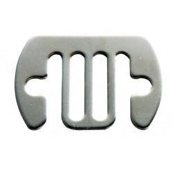 Raccord de connexion inoxydable (lot de 5) pour ruban max.20mm