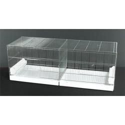 Cage oiseaux 120cm - Tiroir PVC