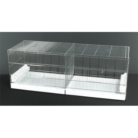 cage oiseaux 120cm tiroir pvc la ferme de manon. Black Bedroom Furniture Sets. Home Design Ideas