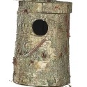 Nid - bûche véritable tronc pour callopsites, 34cm