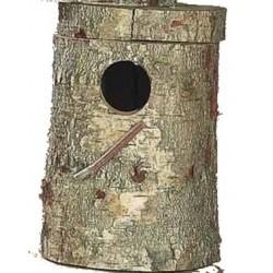 Nid / Bûche Véritable tronc pour Grande Perruche et Perroquet 50cm