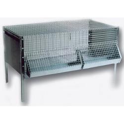 Cage - Eleveuse à poussin - 96x50x60cm