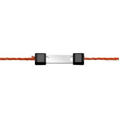 """Connecteur LITZCLIP 'DROIT"""" pour la réparation de clôture - Lot de 10"""