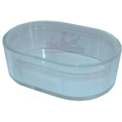 Mangeoire ou Baignoire ovale transparente