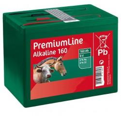 Piles sèches ALKALINE 160Ah - 9Volts