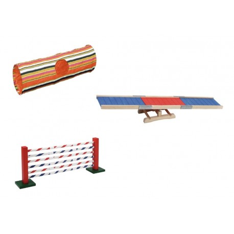 Kit de jeu / AGILITY pour lapin