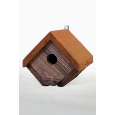 nid nichoir en bois losange pour oiseaux la ferme de manon. Black Bedroom Furniture Sets. Home Design Ideas