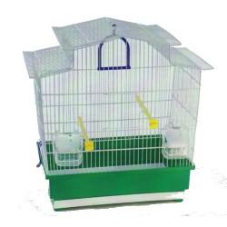 Cage oiseaux AZALEE avec bac de couleur