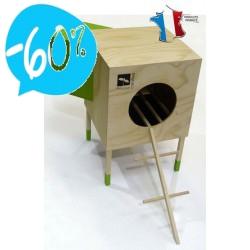 """Poulailler """"Le loft"""" - Fabriqué en France"""