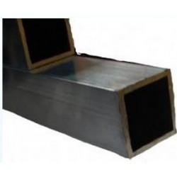 Tube carré en aluminium 2M pour volière