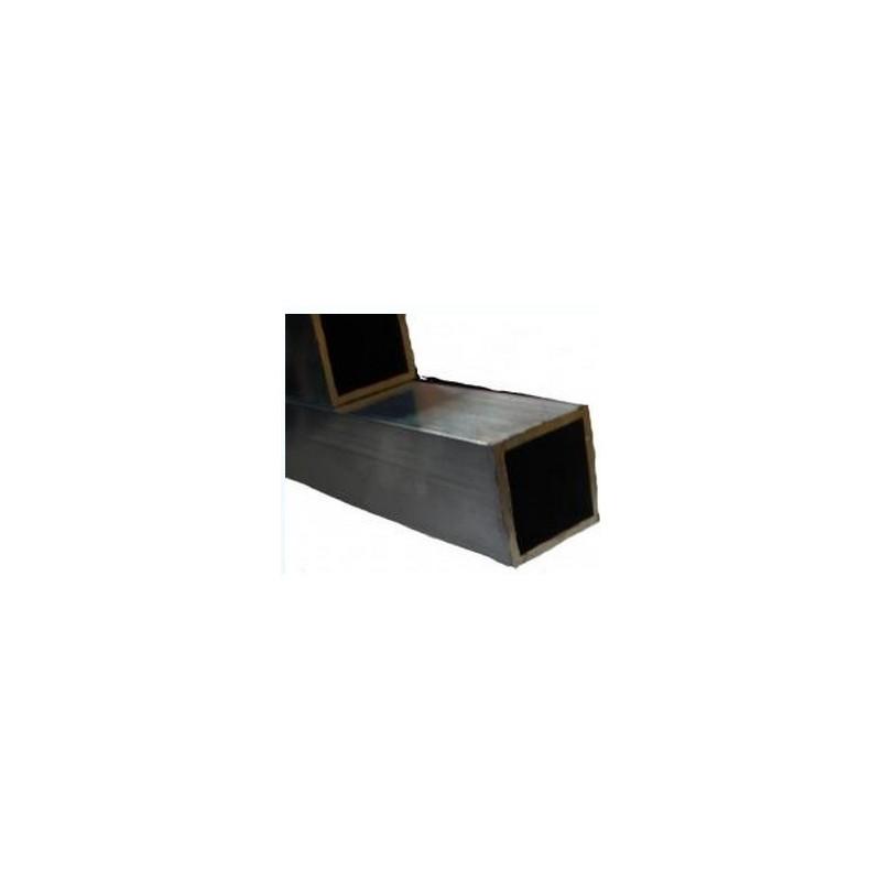 tube carr en aluminium 2m pour voli re la ferme de manon. Black Bedroom Furniture Sets. Home Design Ideas