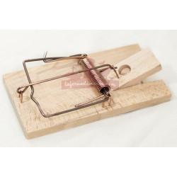 Piège - Tapette à rat en bois CLASSIQUE
