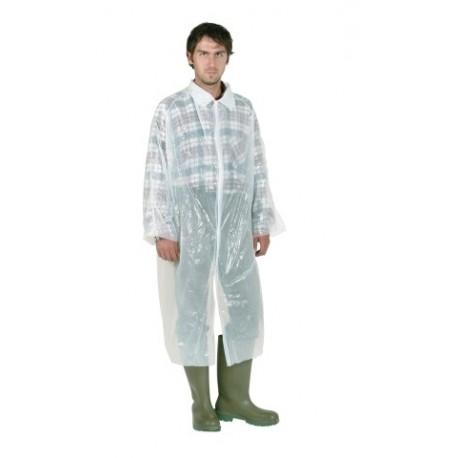 Manteau à usage unique blanc