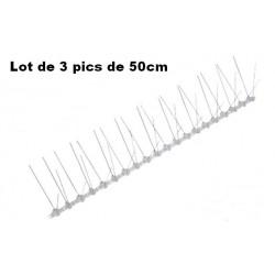 Pic Anti-Pigeon métal 50cm