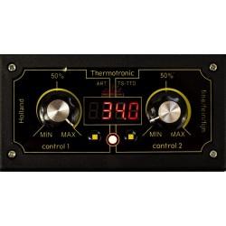 Thermostat électronique de précision - indicateur de température