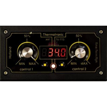 Thermostat avec indicateur de température