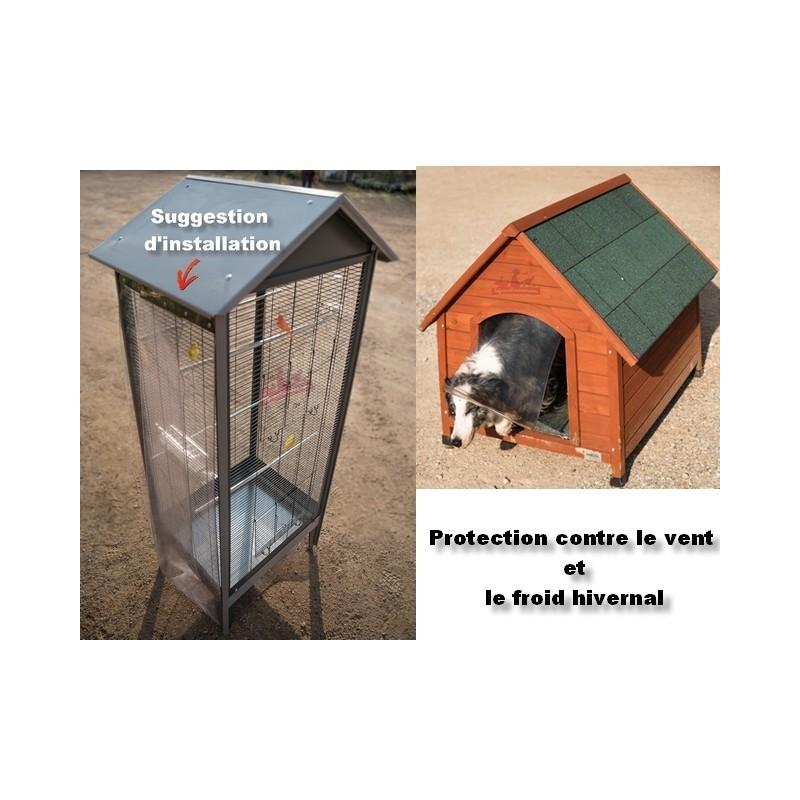 bande de protection en pvc contre le froid pour voli re poulailler. Black Bedroom Furniture Sets. Home Design Ideas