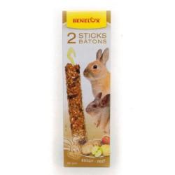 Snack - Baguette aux fruits et biscuits XXL rongeur - 2 x 80g