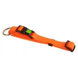 collier nylon orange fluo