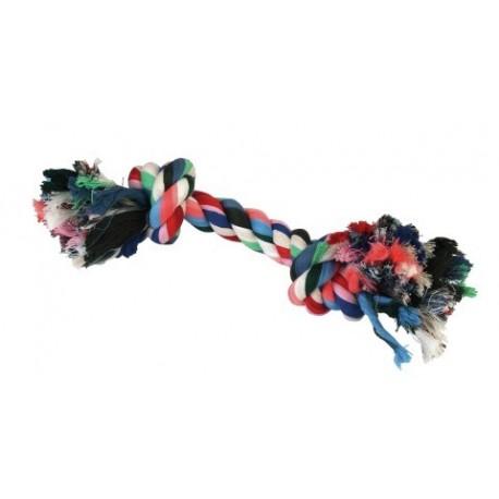 Corde à noeud pour chien - 26cm