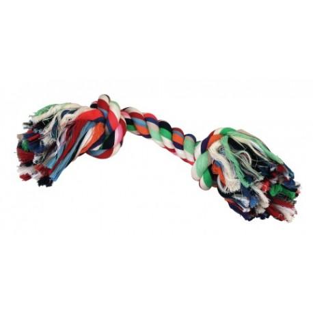 Corde à noeud pour chien - 37cm