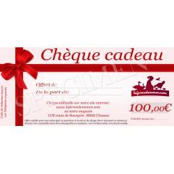 Chèque cadeau - 100eur