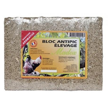 Bloc anti-picage ELEVAGE volaille 3.5kg
