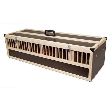 Paniers / Caisse de transport bois 6 cases