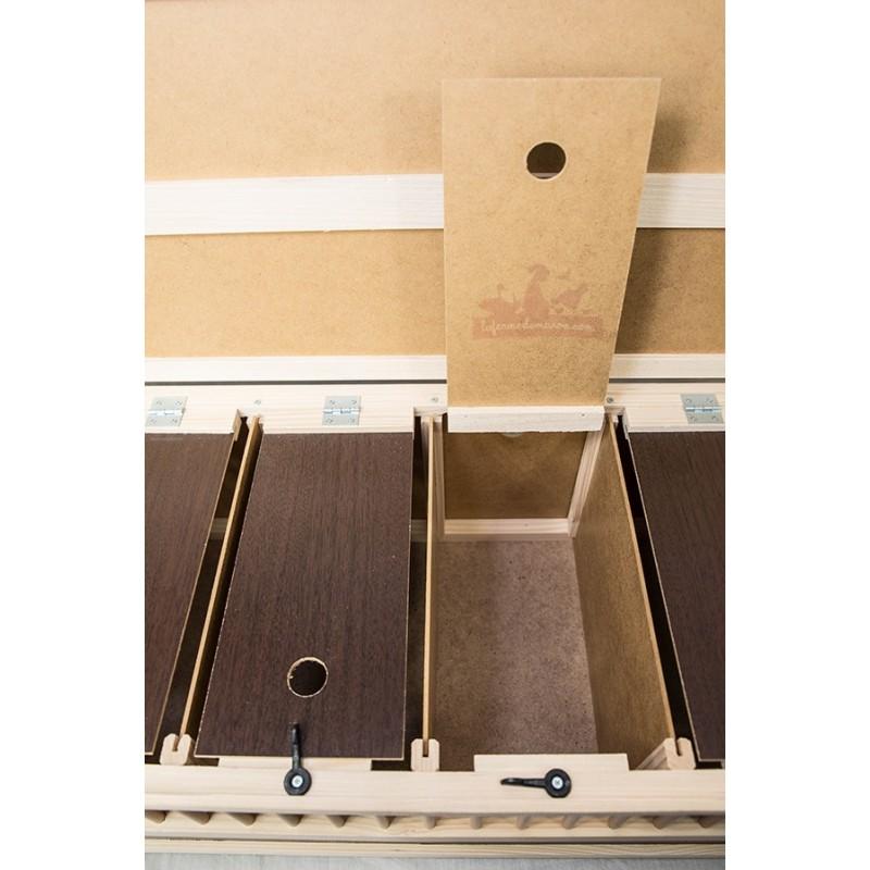 paniers caisse de transport 6 cases la ferme de manon. Black Bedroom Furniture Sets. Home Design Ideas
