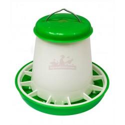 Mangoire plastique 1kg verte avec couvercle et anse métal