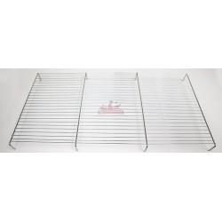 Grille de fond avec pied pour cage d'expo - 57 x 31cm