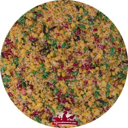 Pâtée grasse aux fruits Tropical - Sac de 3kg