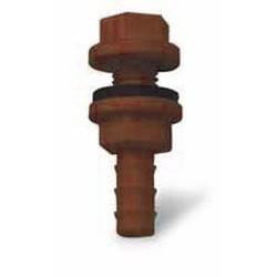 Sortie de réservoir, bac à eau avec joint 9mm vert