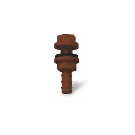 Sortie de réservoir, bac à eau avec joint 9-12mm